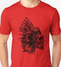 Tribal Skull, Guns and Knives Graphic T-shirt Collection T-Shirt