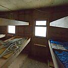 Inside Damoy hut by Mark Prior