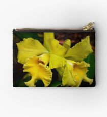 Yellow Orchid , Studio Pouch