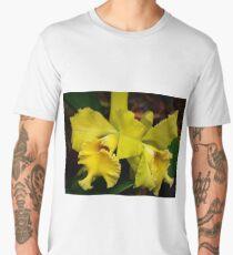 Yellow Orchid , Men's Premium T-Shirt