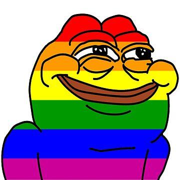 Gay Pride Pepe by jen701