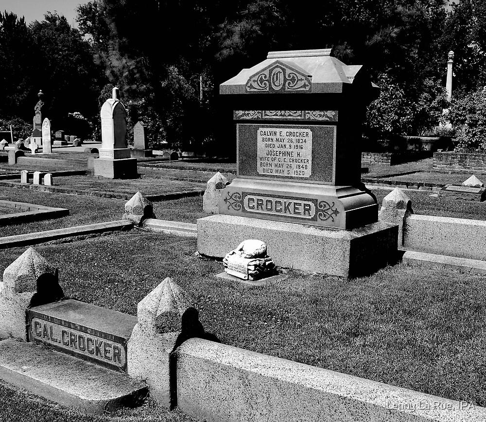 Crocker (B&W) by Lenny La Rue, IPA