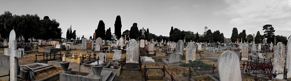 Melbourne General Cemetery, Victoria by Darren Wright