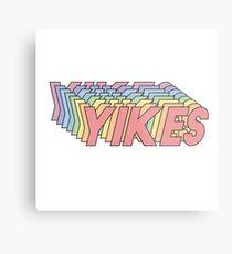 YIKES Metal Print
