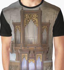 Pipe Organ Grinzinger Pfarrkirche Graphic T-Shirt