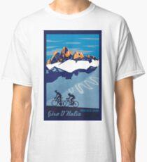 Giro D' Italia Retro  Passo Dello Stelvio Cycling Poster Classic T-Shirt