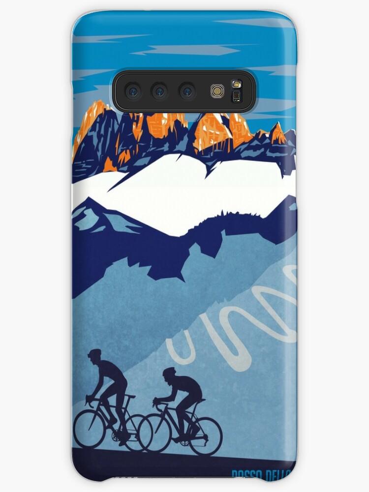 «Giro D 'Italia Retro Passo Dello Stelvio Cartel de ciclismo» de SFDesignstudio