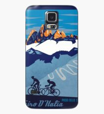 Funda/vinilo para Samsung Galaxy Giro D 'Italia Retro Passo Dello Stelvio Cartel de ciclismo