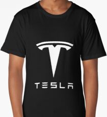 Tesla Merchandise Long T-Shirt