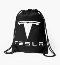 Tesla Merchandise Drawstring Bag