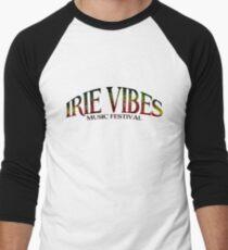 Irie Vibes Musik Festival Logo Baseballshirt für Männer