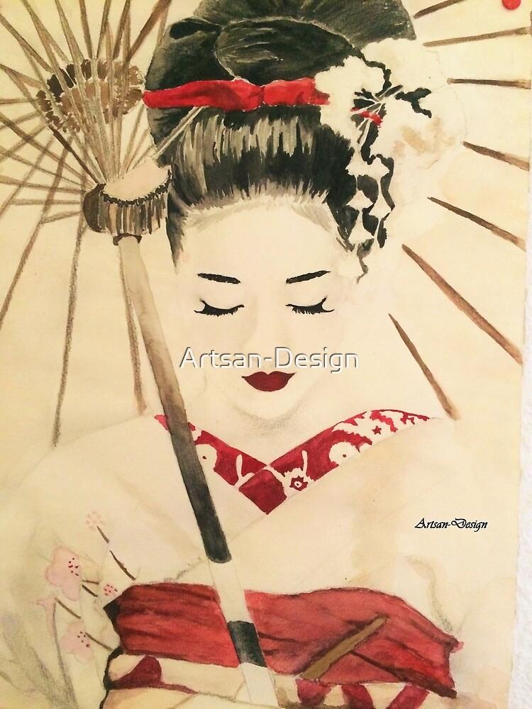 Geisha by Artsan-Design