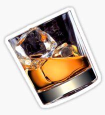 Whisky on the Rocks Sticker