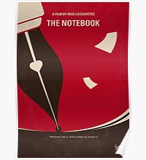 No440- The Notebook minimal movie poster Poster