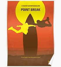 No455 - Point Break minimales Filmplakat Poster