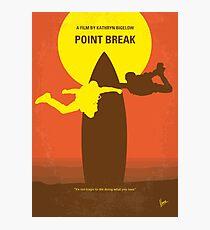 No455 - Point Break minimales Filmplakat Fotodruck