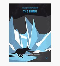 No466- The Thing minimal movie poster Photographic Print