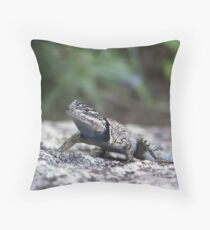 Madera Spiny Lizard Throw Pillow