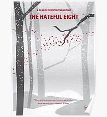 No502- Hateful eight minimal movie poster Poster