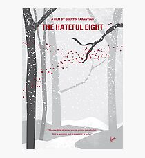 No502- Hateful eight minimal movie poster Photographic Print