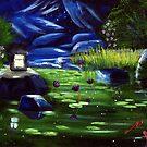 Secret Koi Pond by DinoPanda