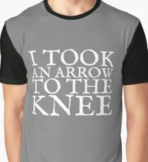I Took an Arrow to the Knee Graphic T-Shirt
