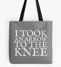 I Took an Arrow to the Knee Tote Bag