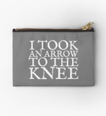 I Took an Arrow to the Knee Studio Pouch