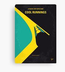 No538- COOL RUNNINGS minimal movie poster Canvas Print