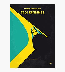 No538- COOL RUNNINGS minimal movie poster Photographic Print