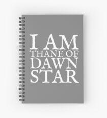 Thane of Dawnstar Spiral Notebook