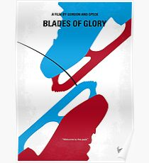 No562- Blades of Glory minimal movie poster Poster