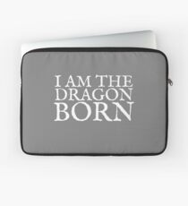 I am the Dragonborn Laptop Sleeve