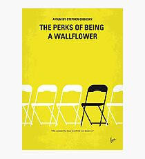 No575- Perks of Being a Wallflower minimal movie poster Photographic Print