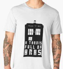A TARDIS Full Of Bras Men's Premium T-Shirt