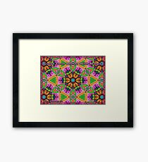 Colour Your World With Magical colors Framed Print