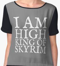 High King of Skyrim Chiffon Top
