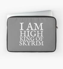High King of Skyrim Laptop Sleeve