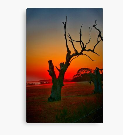 """""""When Morning Gilds the Skies"""" Canvas Print"""