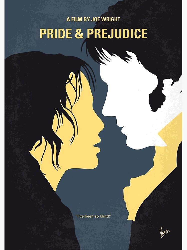 No584- Pride and Prejudice minimal movie poster by ArtBoyVince