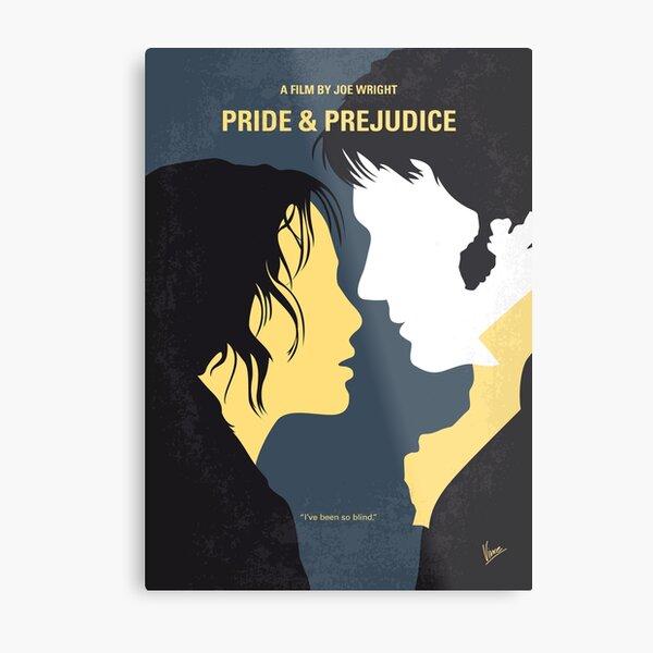 No584- Pride and Prejudice minimal movie poster Metal Print
