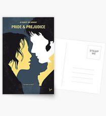 No584- Pride and Prejudice minimal movie poster Postcards