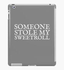 Someone Stole My Sweetroll iPad Case/Skin
