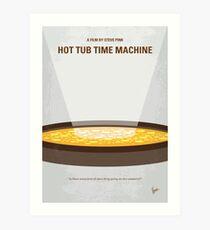 No612- Hot Tub Time Machine minimal movie poster Art Print