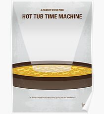 No612- Hot Tub Time Machine minimal movie poster Poster