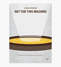 No612- Hot Tub Time Machine minimal movie poster Photographic Print