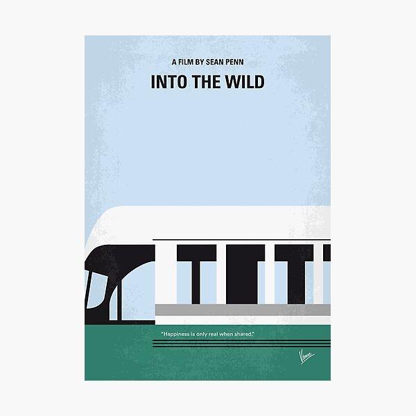 No677- Into the Wild minimal movie poster Photographic Print