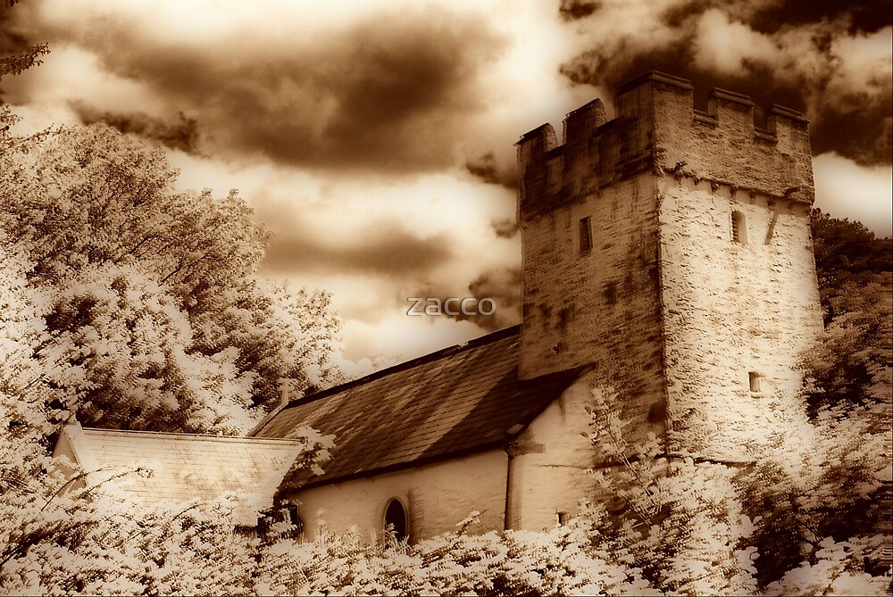 13th c church hdr with orton/sepia fx by zacco