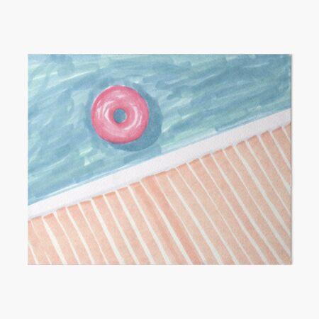 Alone #redbubble #decor #buyart Art Board Print