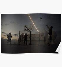 Great Game of Basketball Poster